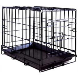 Hondenbench Zwart <br/>MEDIUM