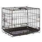 Hondenbench Zwart – XS <br/>47x30x37cm v.a. €19,99